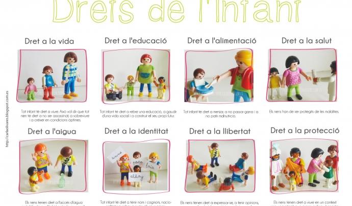 Alguns dels drets dels infants.