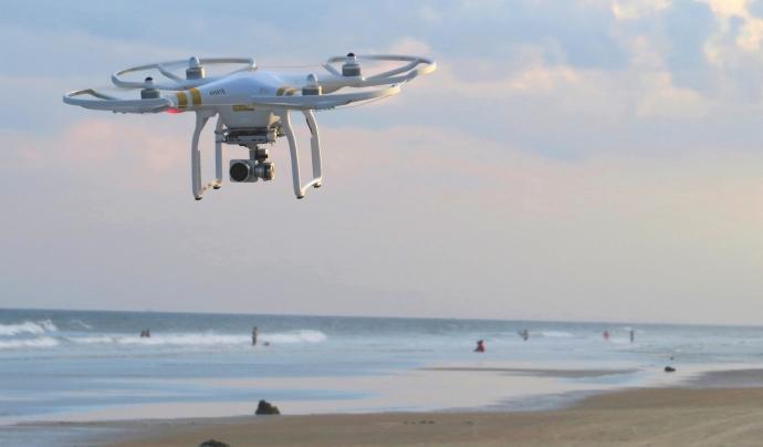 Els drons permetran duplicar la superfície de mar vigilada Font: Pixnio
