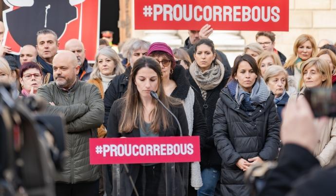 ProCorrebous lluita per abolir aquests espectacles taurins a tota Catalunya. Font: Anima Naturalis. Font: Font: Anima Naturalis.
