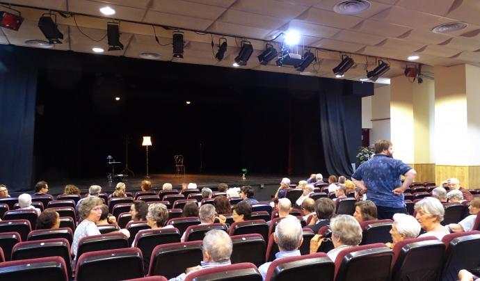 Presentació de l'espectacle al Centre Catòlic de Sants. Font: Montse Busquets