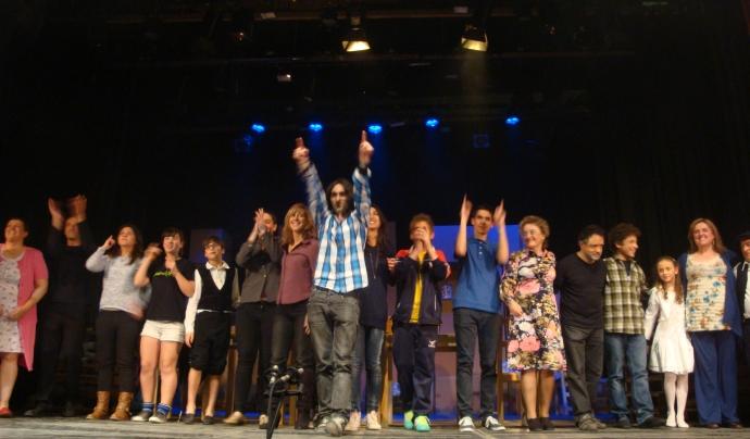 El Grup de Teatre del Centre Moral Font: Pili Muns