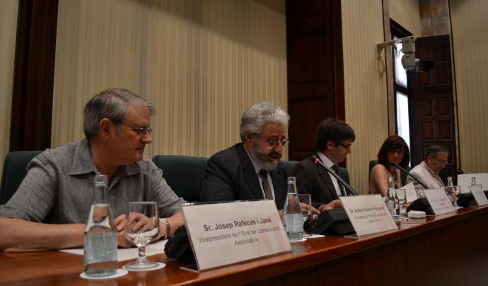 Intervenció del President de l'ENS, Antoni Carné, al Parlament de Catalunya