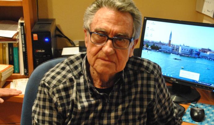 Enric Ollé, portaveu de la Fatec Font: Enric Ollé