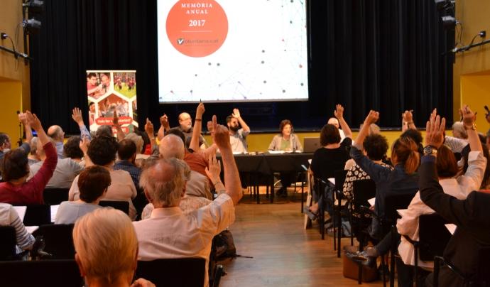 La candidatura de Balot va ser votada el passat divendres 15 de juny a l'Assemblea General Ordinària. Font: FCVS