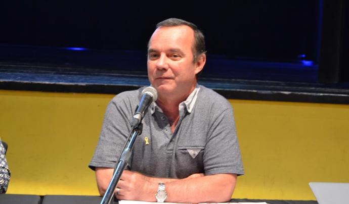 Jordi Balot, en la seva intervenció a l'AGO.