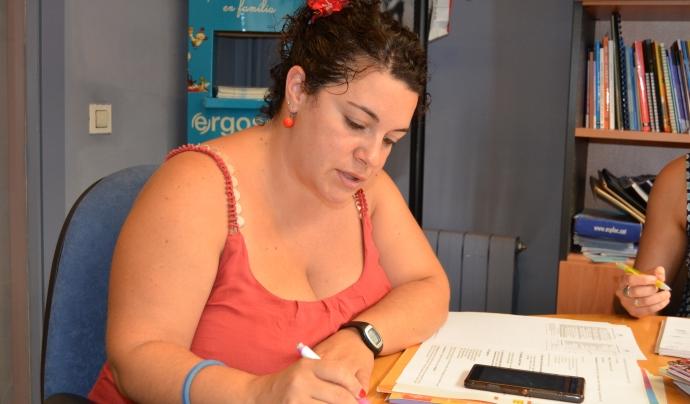 Jana Alentorn, directora pedagoga de l'Escola Lliure El Sol (autora: Marta Rius. 2016).