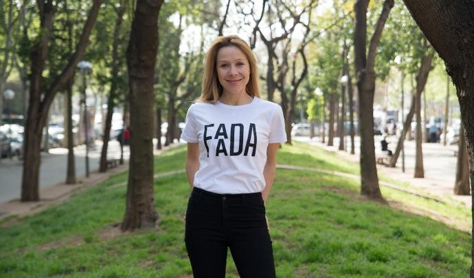 Carla Cornella, presidenta de FAADA.  Font: FAADA
