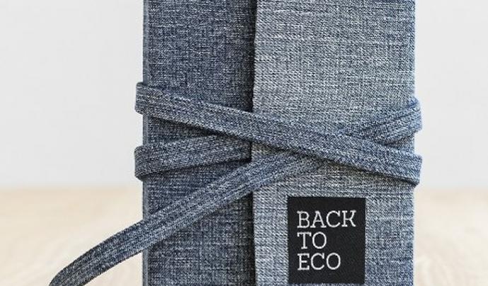 Llibreta de Back to Eco feta per persones en risc d'exclusió social.