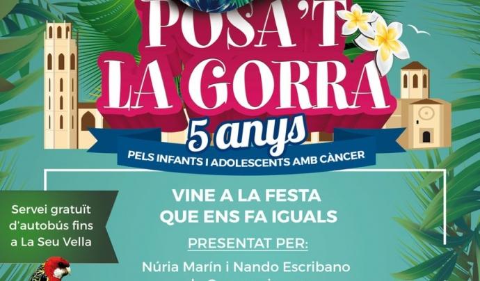 Cartell del Posa't la Gorra a Lleida