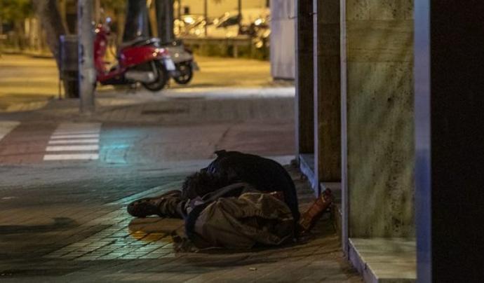 Un recompte és una fotografia fixa de quantes persones dormen al carrer en una ciutat en un moment determinat. Font: Arrels Fundació