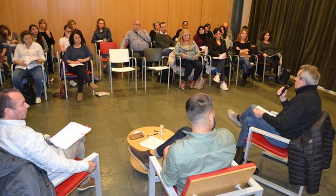La FCVS també va organitzar una sessió formativa sobre voluntarat i economia social l'any 2018. Font: FCVS