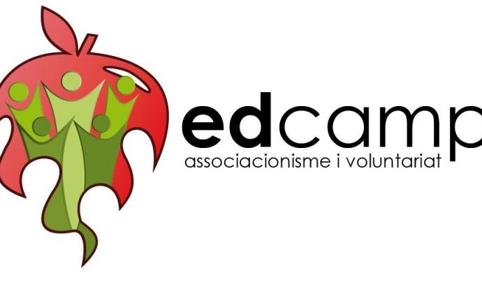 Logotip Edcamp associacionisme i voluntariat Font: Xarxanet.org