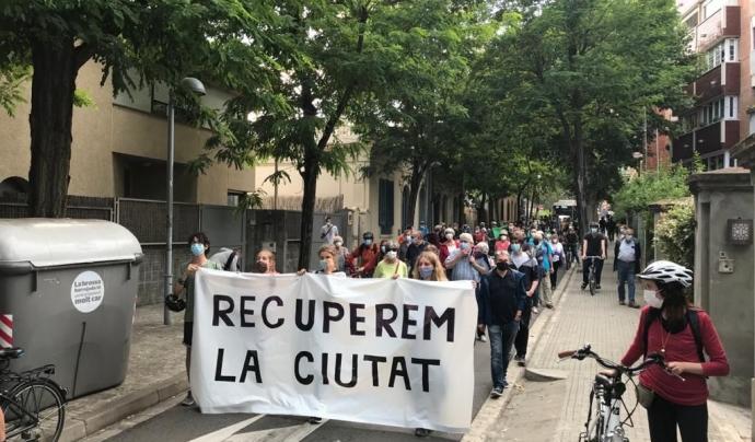 Front social en oposició a l'intent de Pacte municipal per Barcelona. Font: FAVB