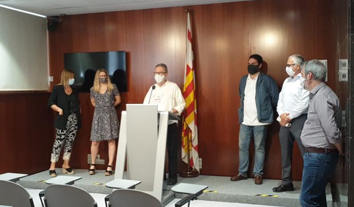 El Gimnàs, la propietat i l'Ajuntament ja havien arribat a acords anteriorment.  Font: Gimnàs Social Sant Pau
