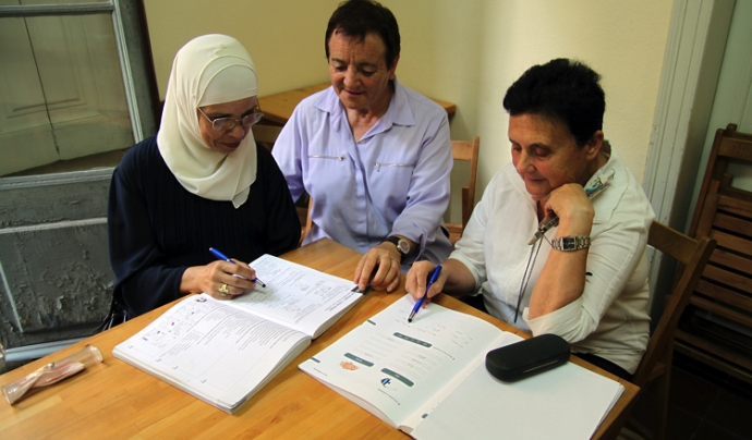 Programa d'acompanyament i formació de Bayt-al-Taqhafa Font: Fundació Bayt al-Thaqafa