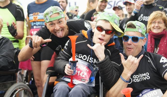 La majoria de curses són de 10 km, tot i que també han fet alguna marató. Font: Egoísmo Positivo. Font: Font: Egoísmo Positivo.