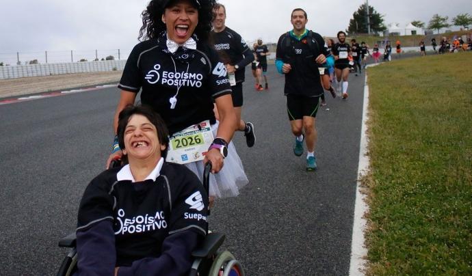 En un futur volen arribar a fer triatlons. Font: Egoísmo Positivo. Font: Font: Egoísmo Positivo.