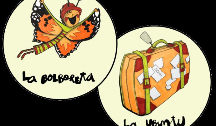La Bulbureta i la Ubuntu que actuen com a fil conductor de les diferents propostes que es desenvoluparan. Font: Fundesplai. Font: Font: Fundesplai.