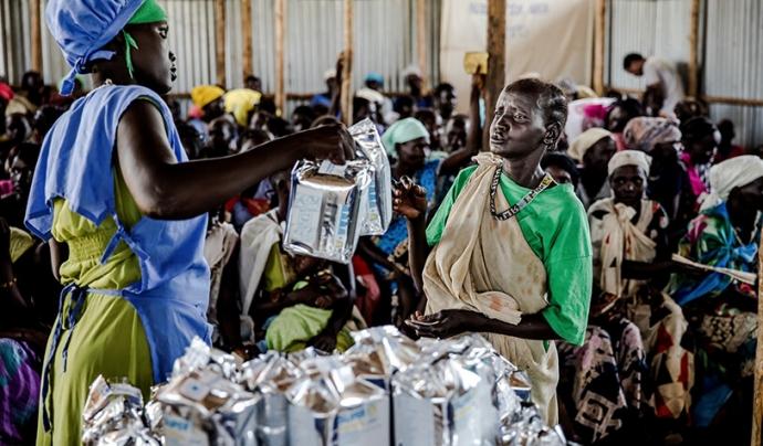 Camp de persones refugiades Font: ACNUR