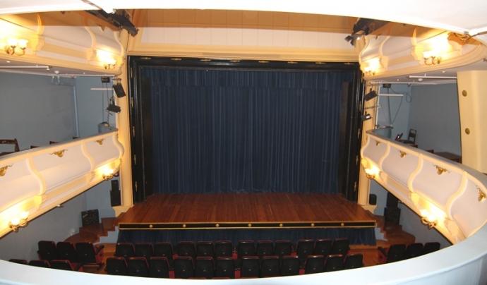 La sala de teatre del Centre Moral i Instructiu de Gràcia. Font: Centre Moral i Instructiu de Gràcia