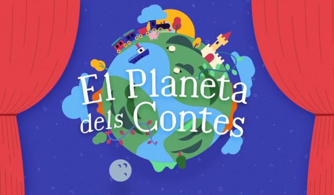 La Terra és el símbol, ara per ara, de la plataforma El Planeta dels Contes Font: Fundació La Roda