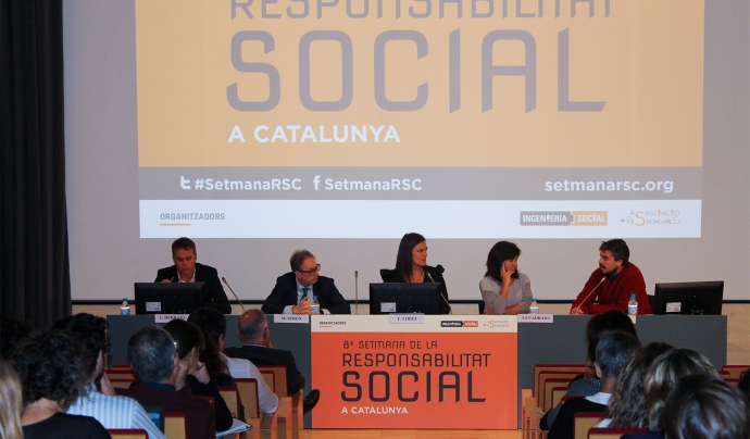 La Setmana de la RSC a Catalunya tindrà lloc del 23 al 27 d'octubre. Font: Setmana RSC Font: Setmana RSC