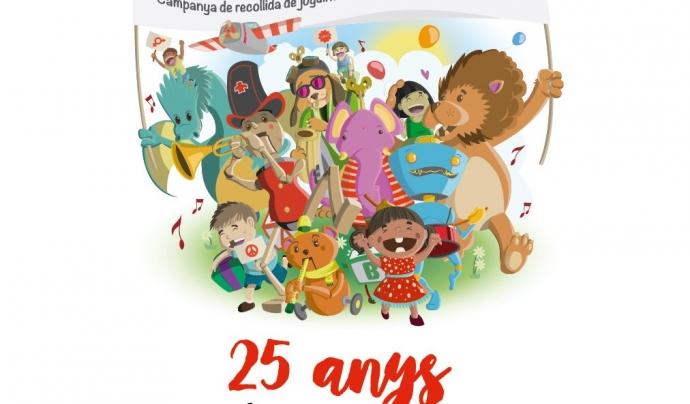 """Campanya de recollida de joguines """"Els seus drets en joc"""" de Creu Roja Joventut Font: Creu Roja Joventut"""