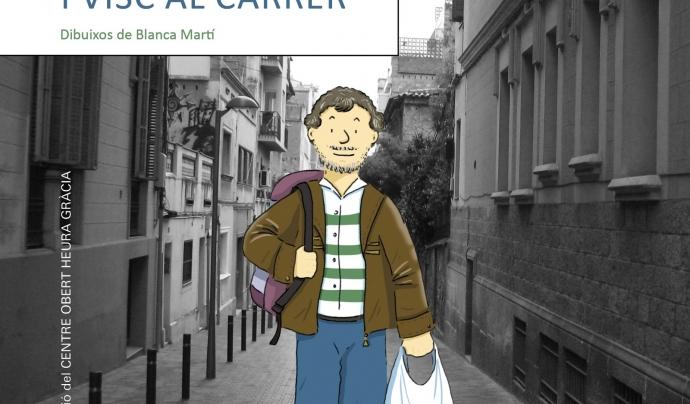 """Portada del llibre """"Em dic Pep i visc al carrer"""""""