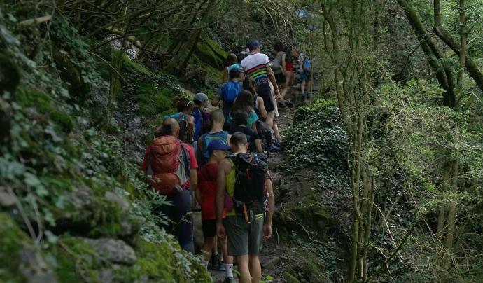 Des del Grup de Defensa de la Natura del Berguedà denuncien el desbordament que ha patit la zona dels Empedrats els últims mesos Font: GNDB