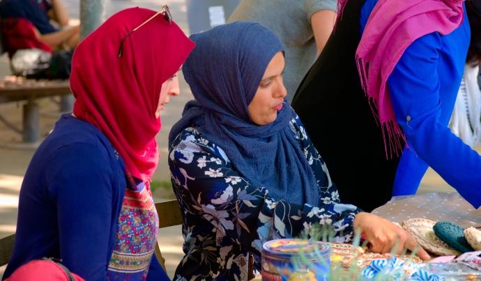 Les cooperatives de dones cosidores marroquines són un exemple d'apoderament i autoocupació Font: ACPP