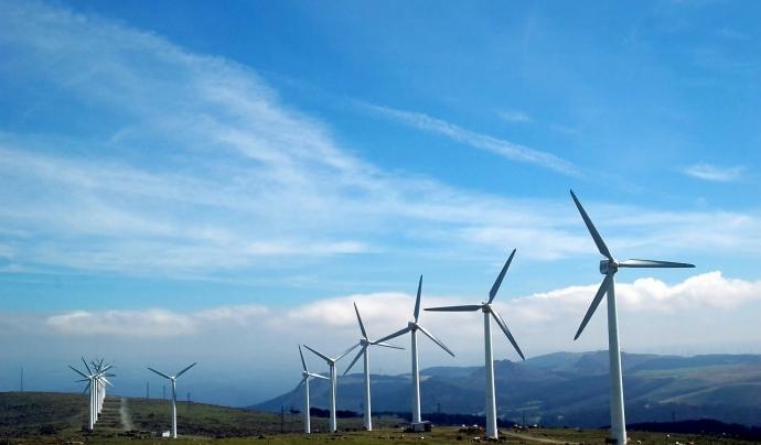 Les entitats denuncien la massificació de projectes de parcs d'energia eòlica. Font: Llicència CC