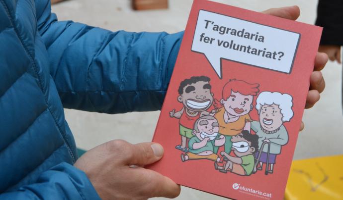 En Moustafà i en Bouziq han fet voluntariat al Casal de Cap de Setmana d'Enriquezarte. Font: FCVS