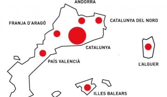 Un total de 36 organitzacions s'han adherit al cens en aquest últim any. Font: Generalitat. Font: Generalitat
