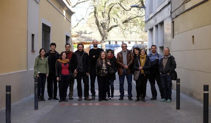 Membres del Consell executiu i persones treballadores de La Dinamo Font: La Dinamo SCCL