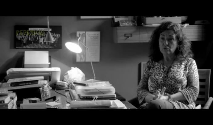 Entrevista a una de les persones especialistes del documental Font: Fundació Oreneta