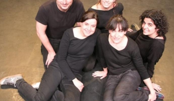 L'equip de NUS Teatre i Acció Social