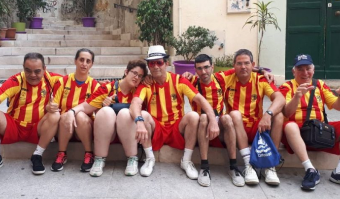 La importància de fer equip Font: Special Olympics