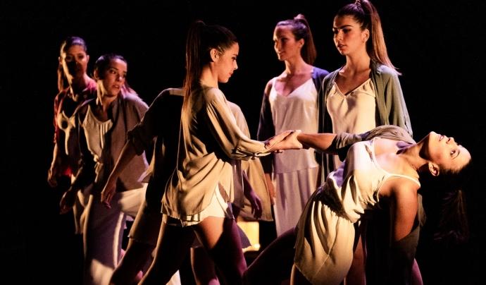 Imatge d'un espectacle de l'Esbart Manresà durant la 23a Fira Mediterrània de Manresa. Font: Txus Garcia