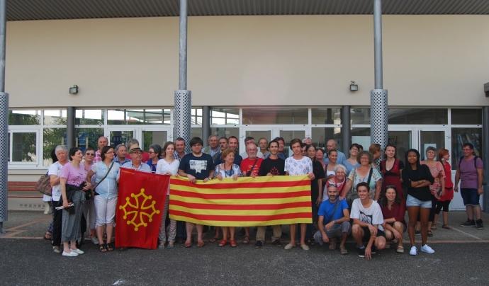 Cloenda de l'Escola Occitana d'Estiu 2015 Font: Cercle d'Agermanament Occitano-Català