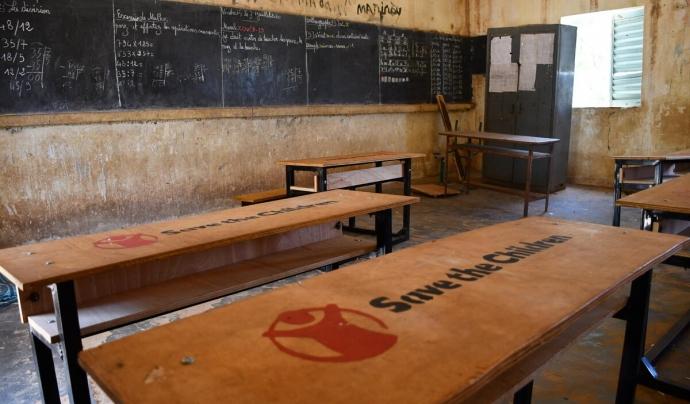 Escola de Níger. Font: Ali Adamou/Save the Children