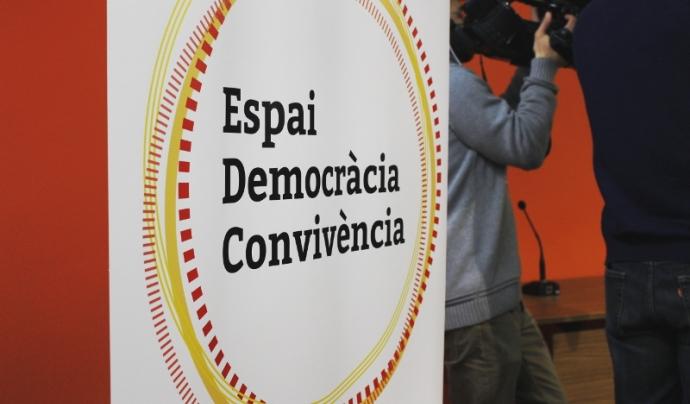 L'Espai Democràcia i Convivència, una nova plataforma civil per lluitar pels drets i llibertats.