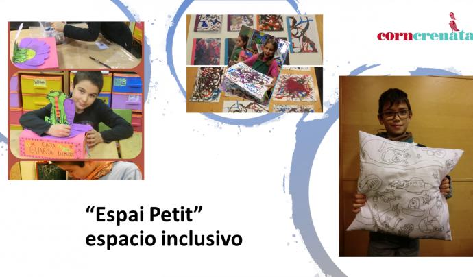 També treballa amb infants i joves amb projectes com 'Pinta-berenars', que dona importància a la creativitat i els bons hàbits d'alimentació. Font: Associació Corncrenata. Font: Font: Associació Corncrenata.