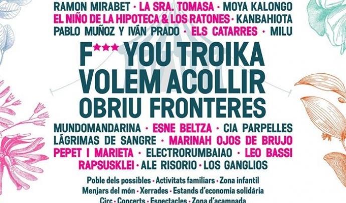 Cartell festival Esperanzah! 2016 (font: Esperanzah!).