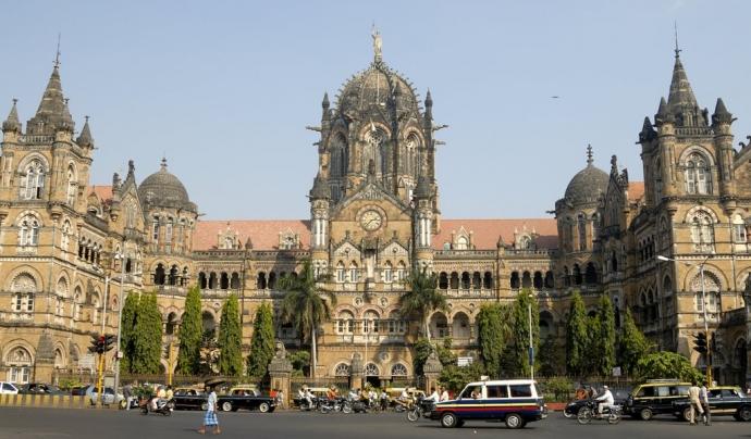 Antiga estació gòtica a Bombai