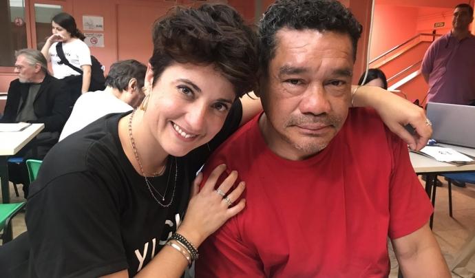 L'actriu i poetessa Estel Solé cedeix el seu compte al Gustavo Luis Flores Font: Estel Solé @EstelSole