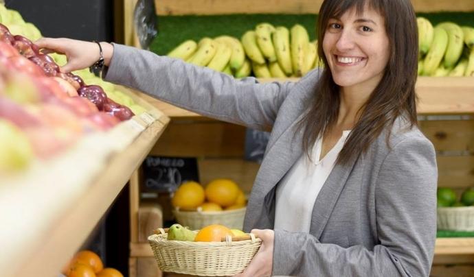 Vives assegura que menjar sa no necessàriament implica comprar car. Font: CoDiNuCat. Font: Font: CoDiNuCat.