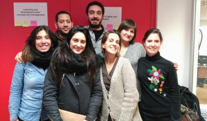 Voluntaris i voluntàries l'edició passada