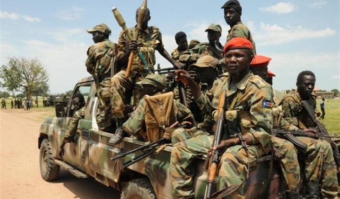 La guerra al Sudan del Sud causa víctimes mortals entre la població civil. Font: Europa Press