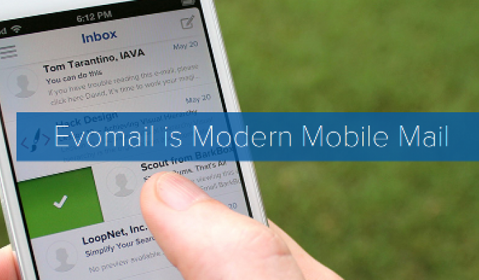 EvoMail és una app per gestionar el vostre correu electrònic
