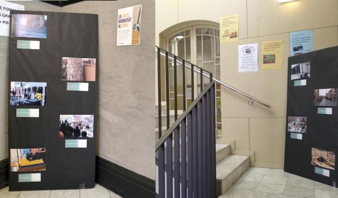 L'exposició consta de 22 fotografies fetes per l'alumnat Font: La Betsaida